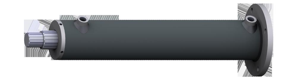 стандартный цилиндр двойного действия CSFP